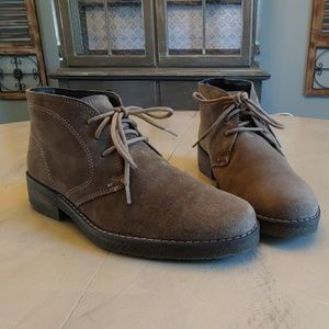 Womens Nordstrom 1901 Vintage Suede Chukka Boots